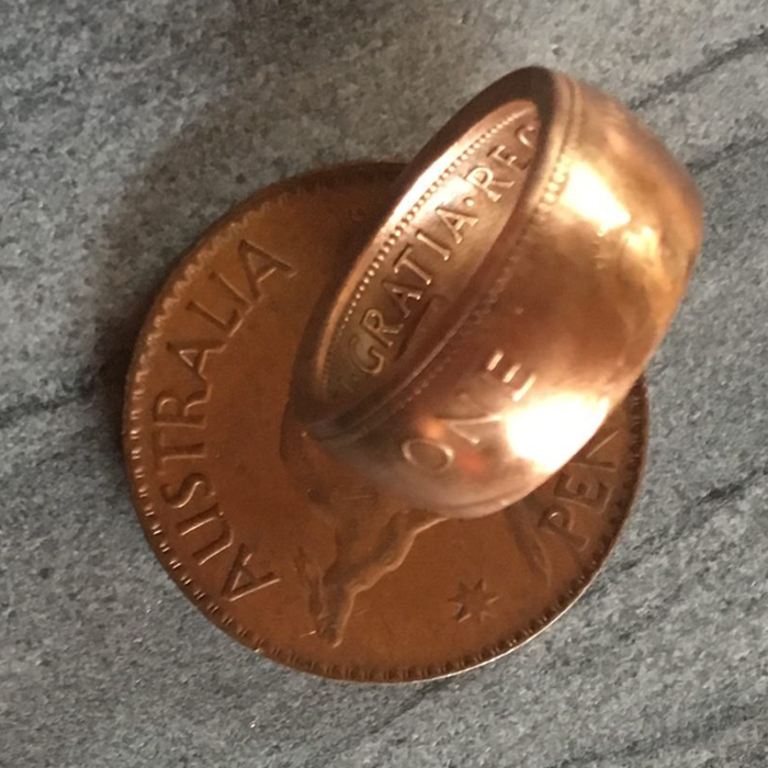 Coin Ring - Unique Jewellery